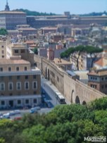 "the secret elevated ""Passetto di Borgo"" actually does lead from the Castel Sant'Angelo to the Vatican City"
