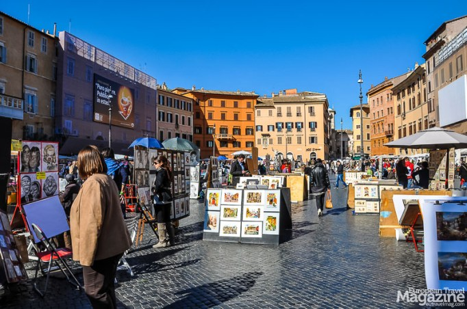"""There's a good reason why market squares in Europe aren't called """"a square"""". They rarely are."""