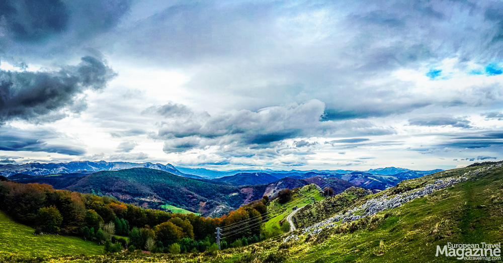 The Basque countryside is monumental, mysterious and majestic