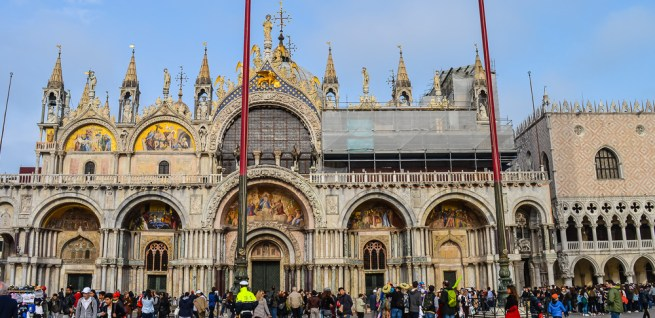 1. Visit the St. Mark's Basilica