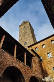 You can climb Torre Grossa and then visit the stunning Palazzo Comunale