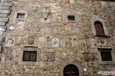 The 13th century Palazzo Casali was built by the family of the same name, who ruled Cortona in medieval times