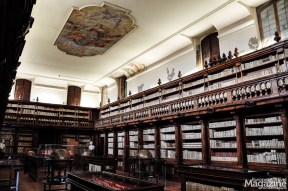 This space was the ancient library of the convent and contains about 13,000 volumes
