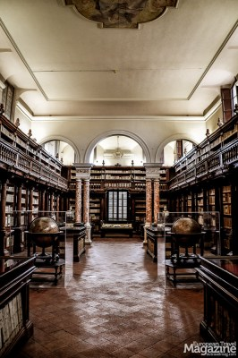 The rooms are a reminiscent of a time where great scholars and bright minds were monastic and a clerical career was the only intellectual education, the common people could achieve