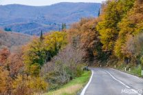 The Chianti wine region is traversed by the Chiantigiana main road