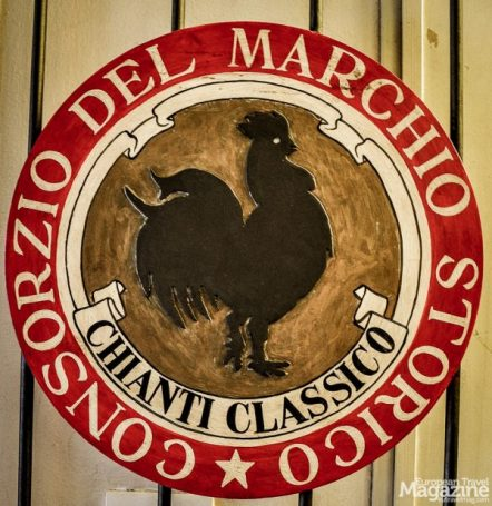 The best wines - the Chianti Classico - are labelled with the symbol of the black rooster
