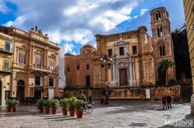Santa Maria dell'Ammiraglio is a wonderful example of Arab-Norman architecture