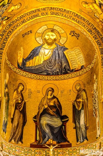The Byzantine mosaics are some of the most beautiful in the world.