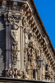 Catania on the east coast is part of the UNESCO acknowledged selection of 8 cities, that are late baroque treasures