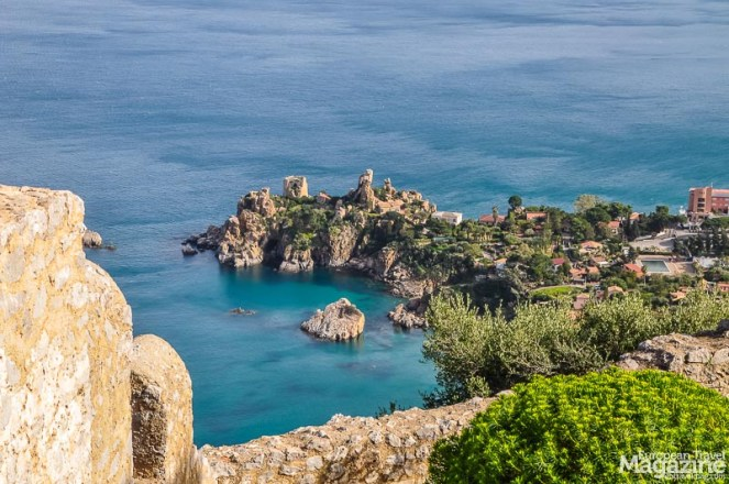 The ticket price - and climbs - are well worth it when you command stunning views of Cefalù and the coast line