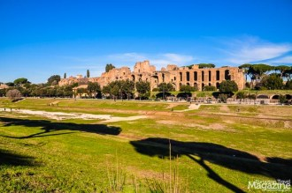 While there may be little left of the grandiosity of former racetrack of Circus Maximus, it doesn't take much imagination to feel the presence of history here. How the imposing Flavian Palace dominated the one side of the track and the supremacy of the Roman emperors was a powerful presence.