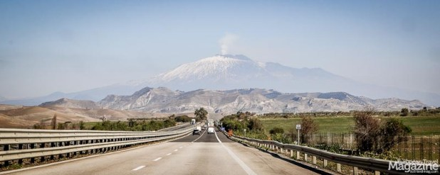 The presence of the volcano dominates the panorama of the northeastern part of Sicily - and perhaps the mindset of the Sicilians?