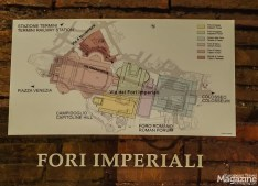 The reason for the plural Fori is, that there were 4 of them: Forum of Caesar, Augustus, Nerva and Trajan.
