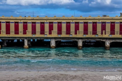 """The old bathing establishment of """"Alle Terrazze"""" is a memento of Palermo's heyday in the """"fin-de-siècle""""."""