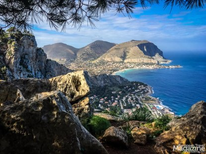 The picturesque beach town of Mondello, just on the other side of Monte Pellegrino is a popular summertime leisure