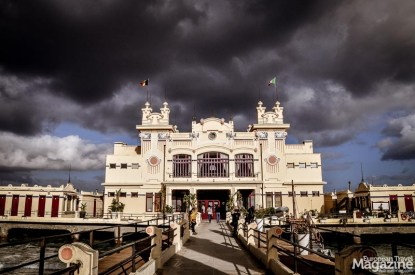 Beautiful Art Nouveau houses crown this stylish resort