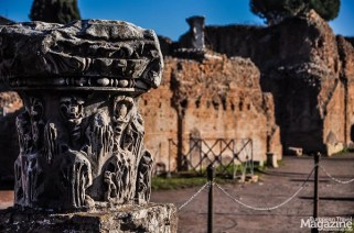 The Palatine Hill, the Collis Palatium in Latin, is the etymological origin of the english word palace as well as other European languages