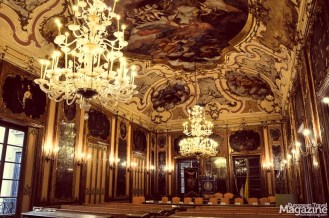 The wonderful Baroque Palazzo Comitini offers guided tours
