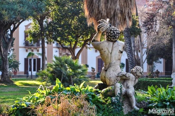 Fountain in Villa Trabia