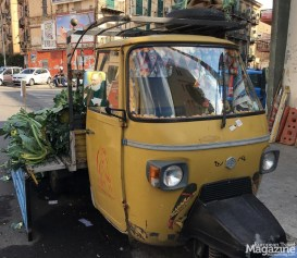 You can buy fruit and vegetables directly from the back of the truck