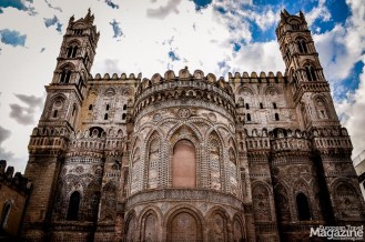 Palermo boasts stunning and unique Arab-Norman buildings, like the Cathedral