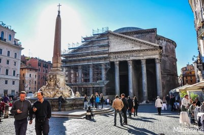 Like Piazza Navona, Pantheon is such an integral part of the urban landscape of Rome, that it's easy to forget that this ancient structure is actually 1900 years old!