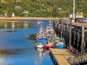 The harbor at Ullapool, jumping off point for the western Scottish islands Photo by Dave Davis