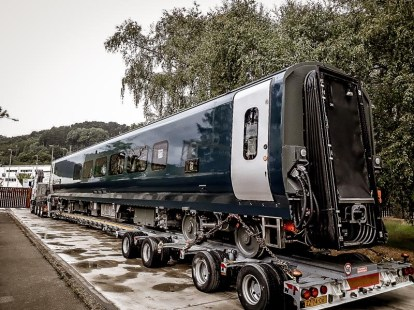 New sleeper carriages are undergoing final testing before coming into service later this year. Photo courtesy of Serco Services Ltd