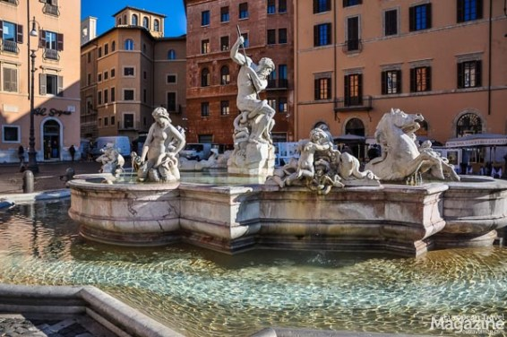 "Piazza Navona used to be called Circus Agonalis and over time the name changed to ""in avone"" to ""navone"" and finally to ""navona""."