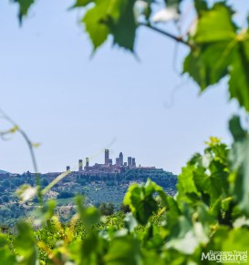 The medieval skyline of San Gimignano is a captivating sight
