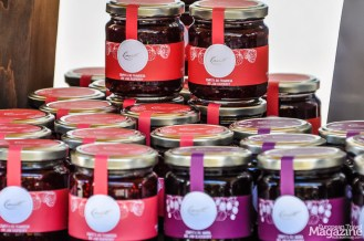 Indulge in homemade sausages, jams, sweets, liquors, cookies and cakes
