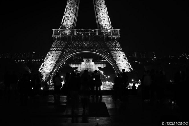 Tourists at Trocadéro