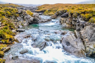 IF the weather is fair, this hike offers charming small waterfalls and green-blue ponds