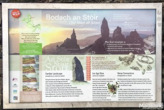 """The name of our first hiking destination on the Island is said to be derived from Norse, where """"Storr"""" means """"Big"""""""