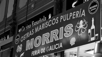 Don't miss the chance to indulge in the best Galicia oysters at Morris