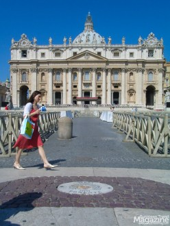 Constructed over ten years, 1656-1667, the square sits in front of St Peter's Basilica