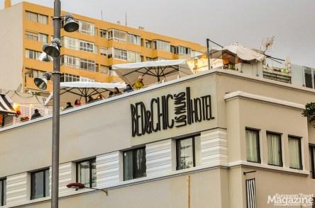 El Tendedero de Catalina Rooftop Bar sits atop Bed&Chic hotel