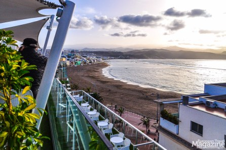 Probably the best place in Las Palmas to enjoy the sun set over Las Canteras beach