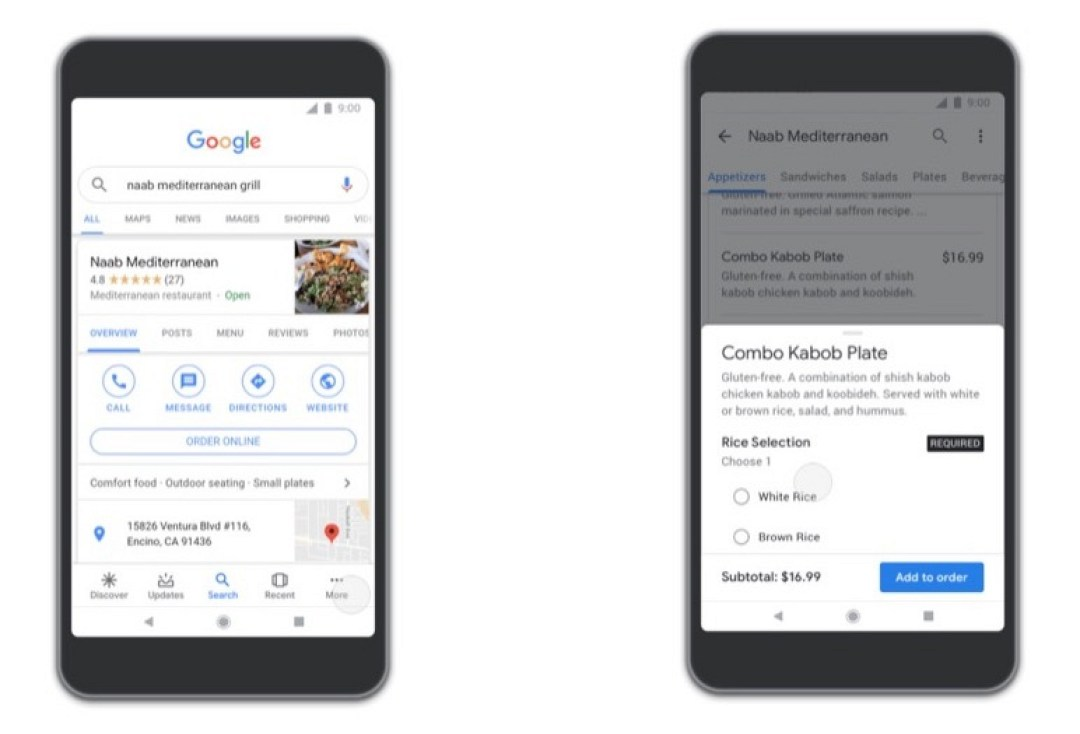 google-apps-food-ordering