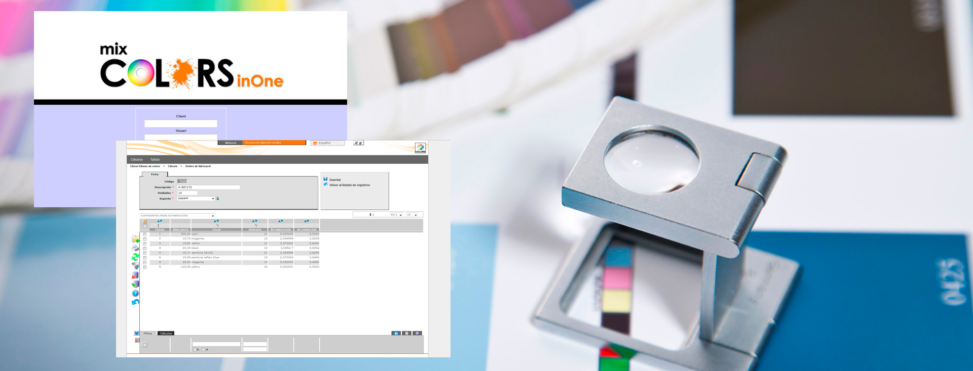 Paint Dosing systems Mix Colors in One