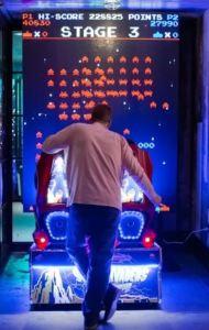 Arcade Vendor in Washington D.C.