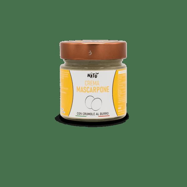 Mascarpone Con Crumble