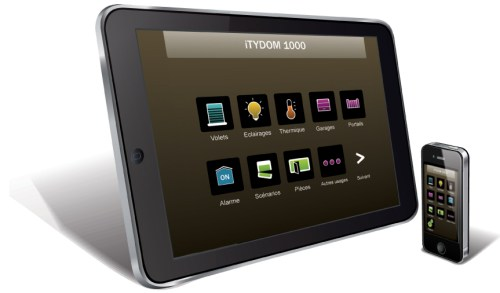 E3C Alarmes : Application iTYDOM pour Tablettes et Smartphones de chez DeltaDore