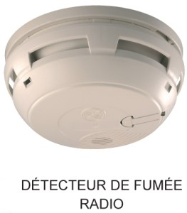E3C Alarmes : Detecteur Fumée Delta Dore