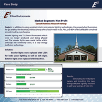 E3 Case Study House of worship