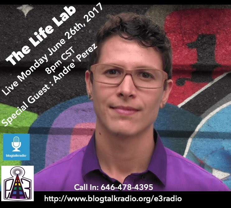 """The Life Lab: Episode 42 """"Power In Vulnerability"""" with Andre Perez"""
