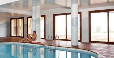 ventanas en piscina