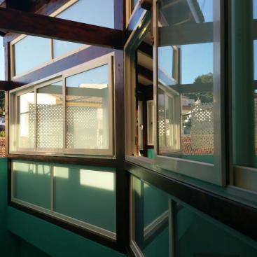 Instalación de Cierre de Terraza en vivienda