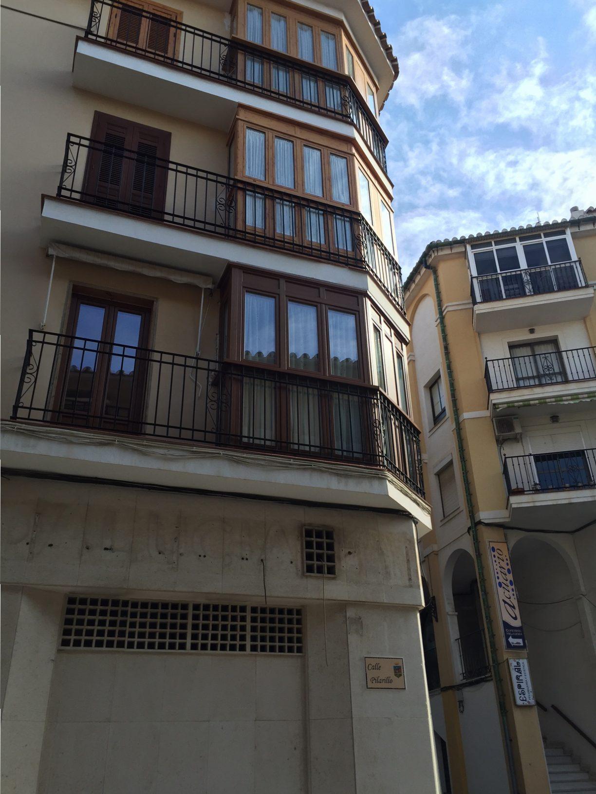 Instalación de Cierres de Balcón en vivienda