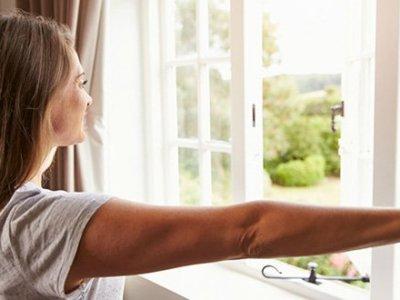 La ventilación del hogar con ventanas de PVC